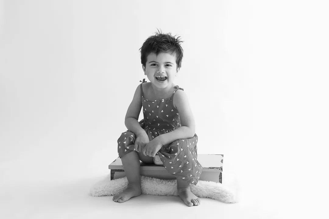 portrait enfant en studio book photo paris