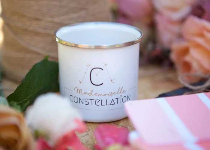 tasse à café mademoiselle constellation