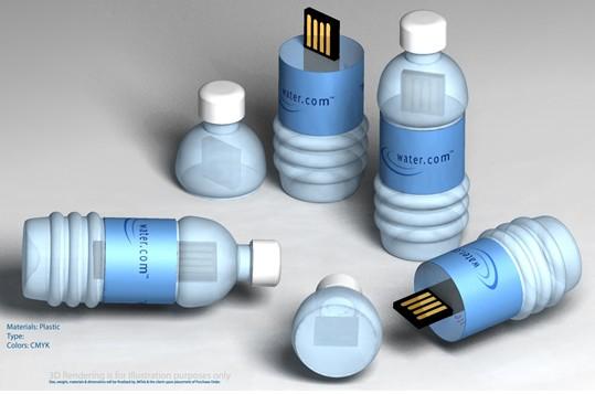 Memoire de l'eau - clé usb aquatique