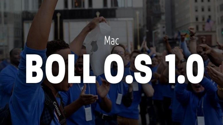 Apple Mac nouvel O.S