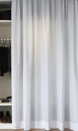 creer des rideaux sur mesure pour masquer un dressing mes rideaux blog