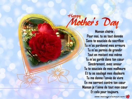 poeme maman