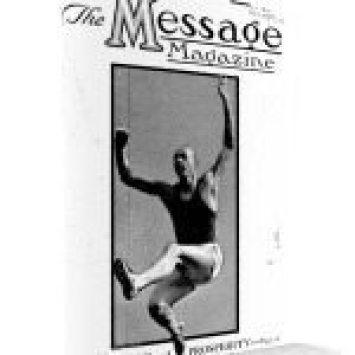 Message Magazine 1935 cover