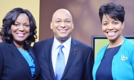 Willie and Elaine Oliver talk with Carmela Monk Crawford