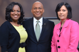 Willie and Elaine Oliver talk with Tamyra Horst