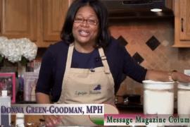 Donna in the kitchen
