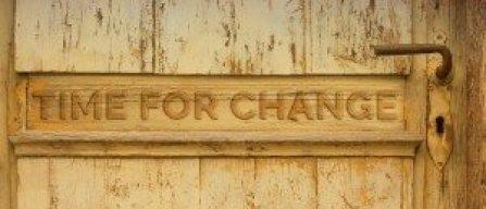 changed door