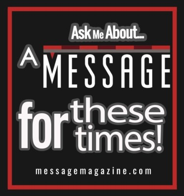 Ask Me about Message Magazine