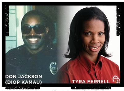 Diop Kamau and Tyra Ferrell