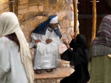 Widow appeals to Rabbi