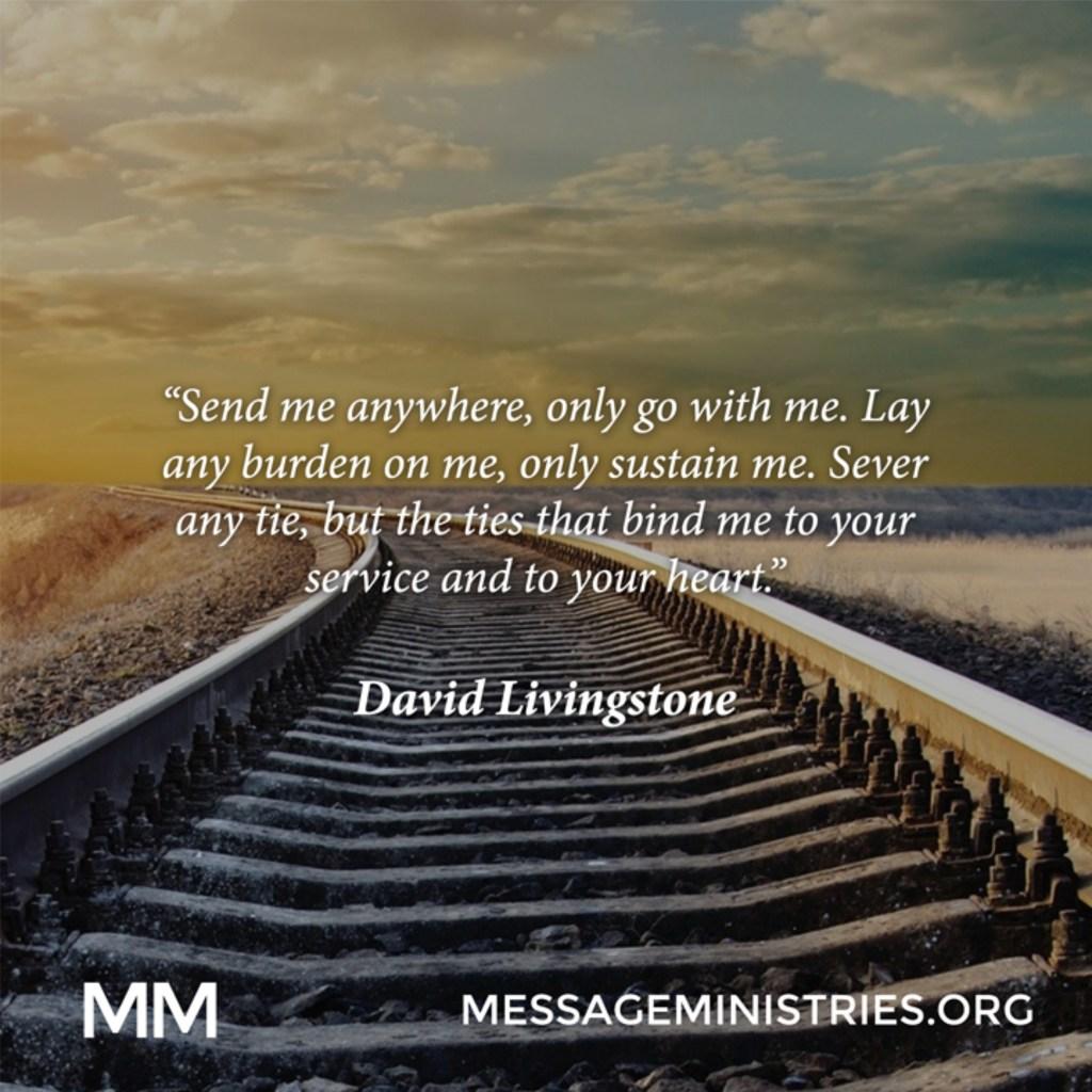 David Livingstone - Send me Anywhere