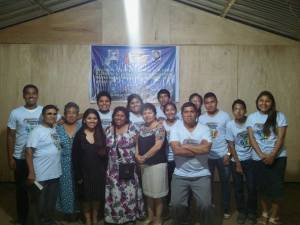 Valle Verde Peru Mission Team - PREFAB Church in Chulcano
