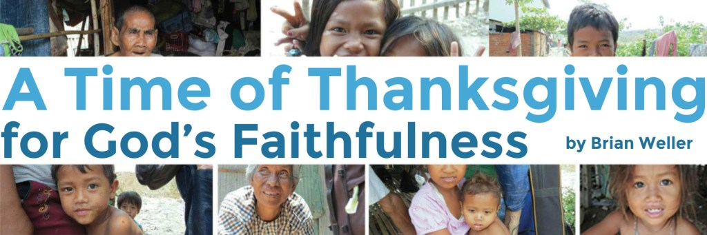 A Time of Thankfulness BANNER