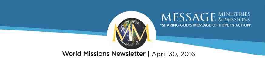 2016 April - Message Min NL Banner