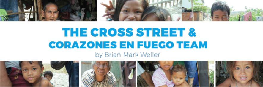 The Cross Street and Corazones en Fuego Team - Constant Contact Header