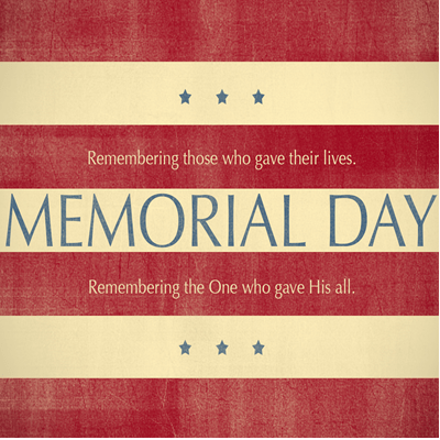 Remembering Memorial Day 2016
