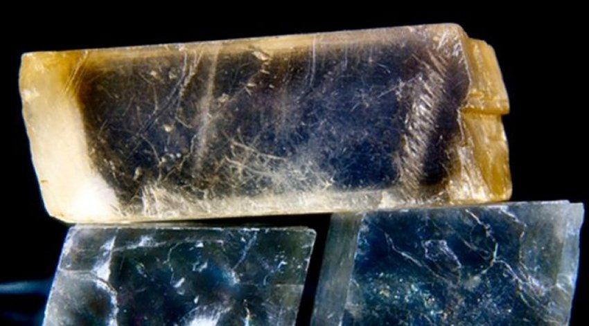 Viking crystal stone