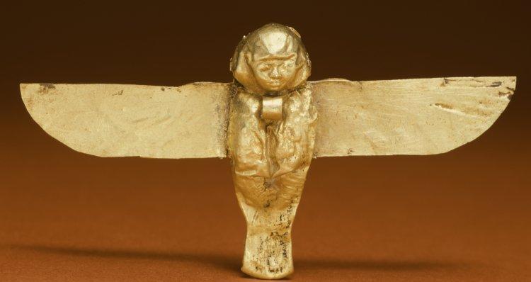 Egyptian Ba bird