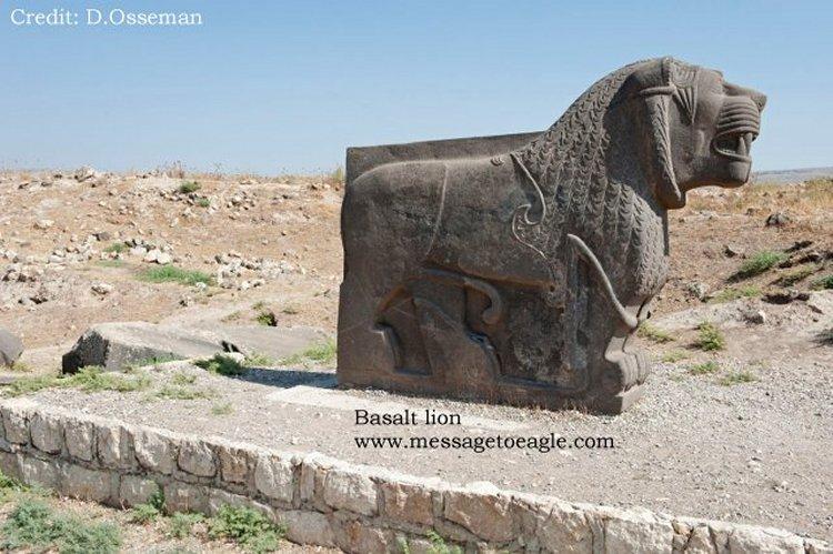 Ain Dara Temple lion monument