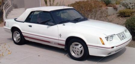 1984 1/2 Mustang GT 350