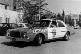 1979 City of Kalamazoo police cruiser