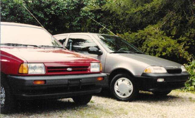 1988 Ford Festiva 1990 Suzuki Swift