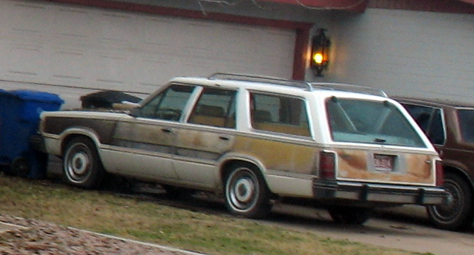 1982 Mercury Cougar wagon