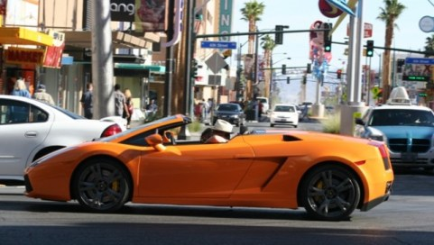 Orange, like that Camaro on blocks