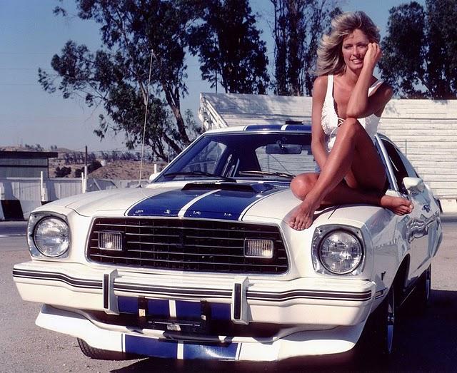 Ford Mustang II Farrah Fawcett