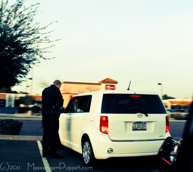 Scion xB cop