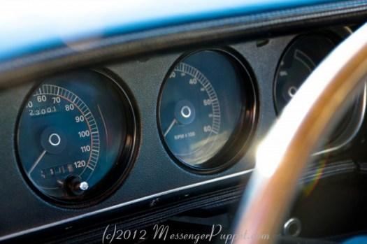1970 Mercury Cougar dash