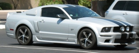 Mustang GT all tarted up