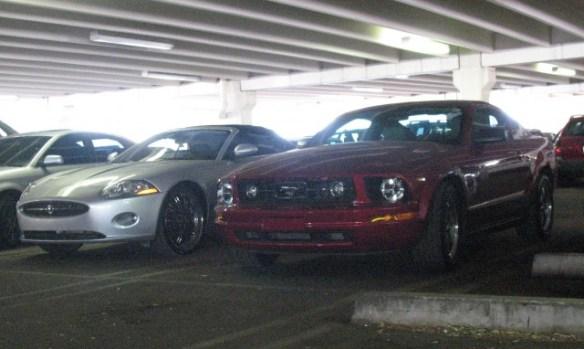 Ford Mustang Jaguar XK