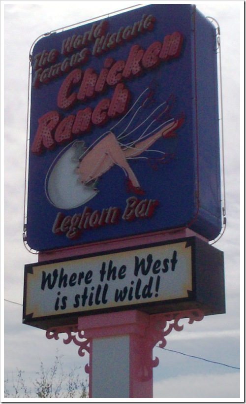 Chicken Ranch Pahrump Nevada