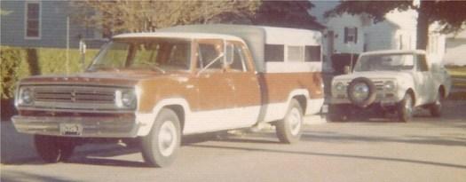 International Harvester Dodge Crew Cab