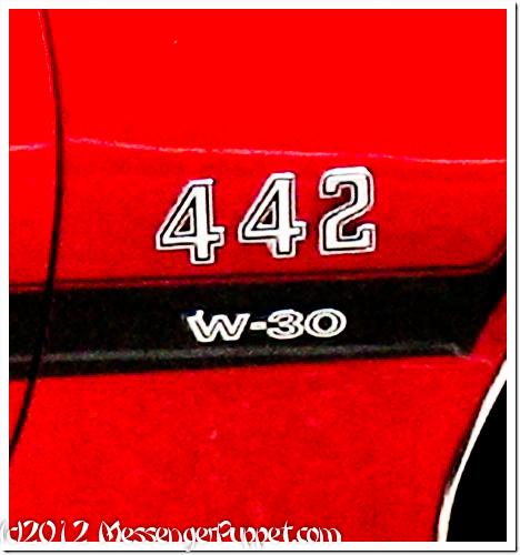 1970 Oldsmobile Cutlass 442 badge