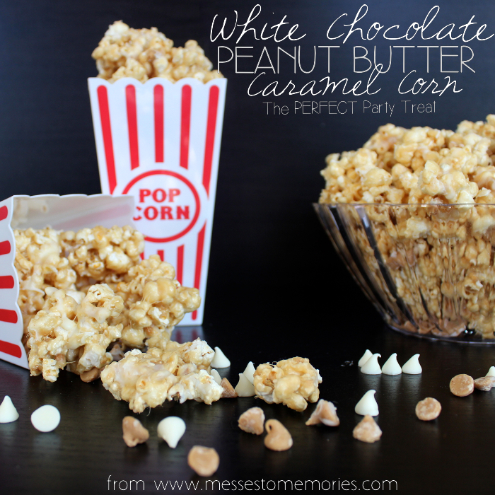 An easy and delicious movie night treat for the whole family from Messes to Memories