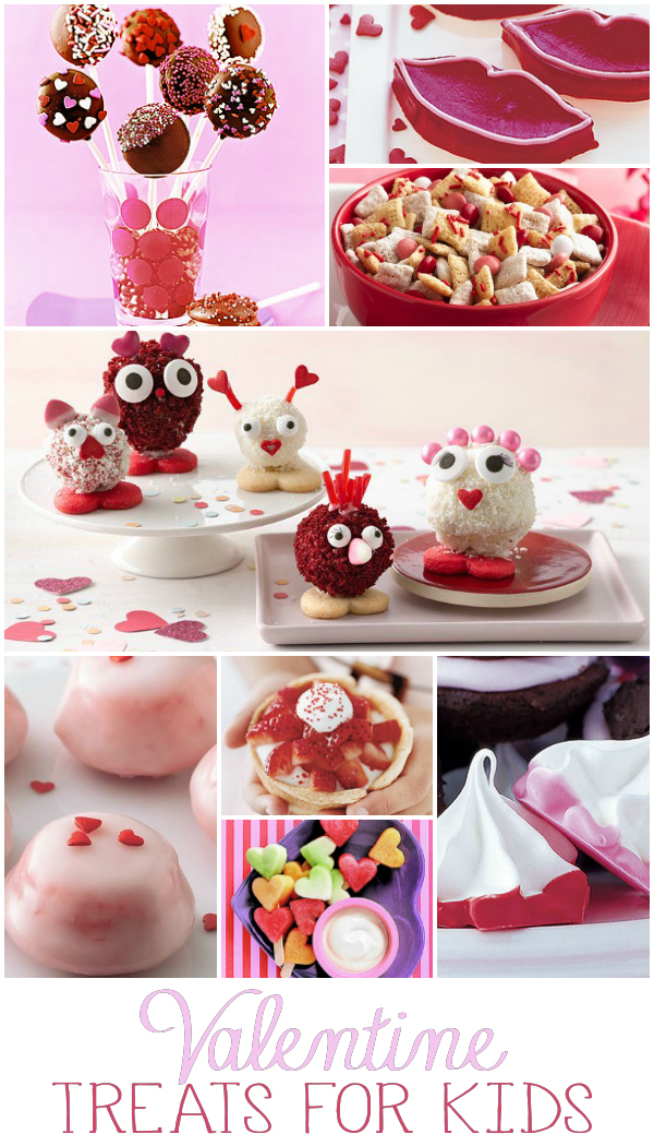 Kid's Valentine's Treat Collage