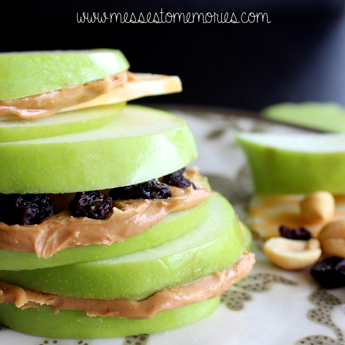 Apple Sandwiches from Messes to Memories