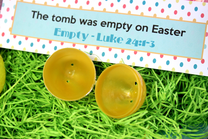 Christ Centered Easter Egg Printables from Messes to Memories