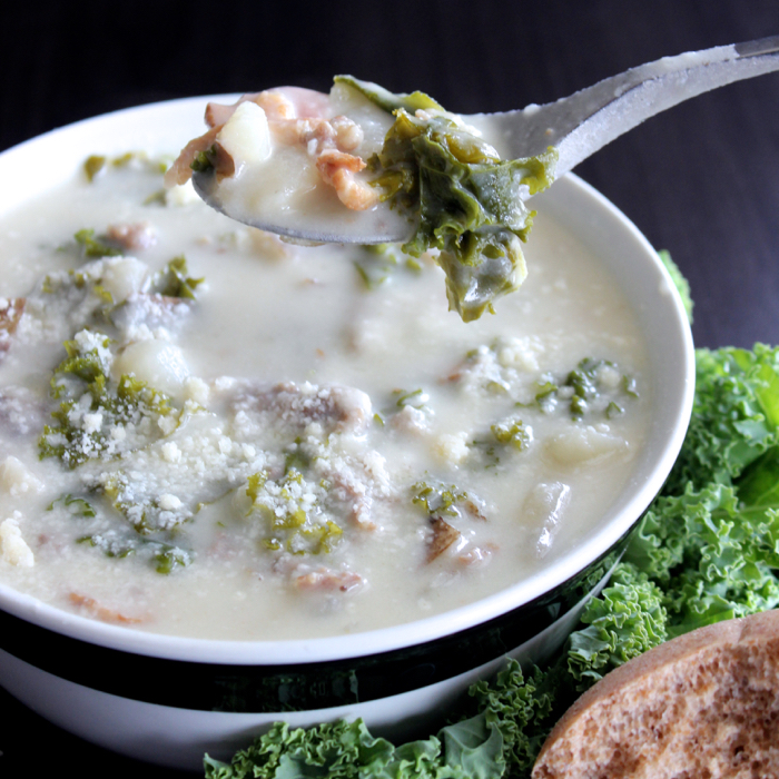 Just like Olive Garden's Zuppa Toscana... but better!