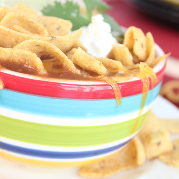 Taco Soup from Messes to Memories