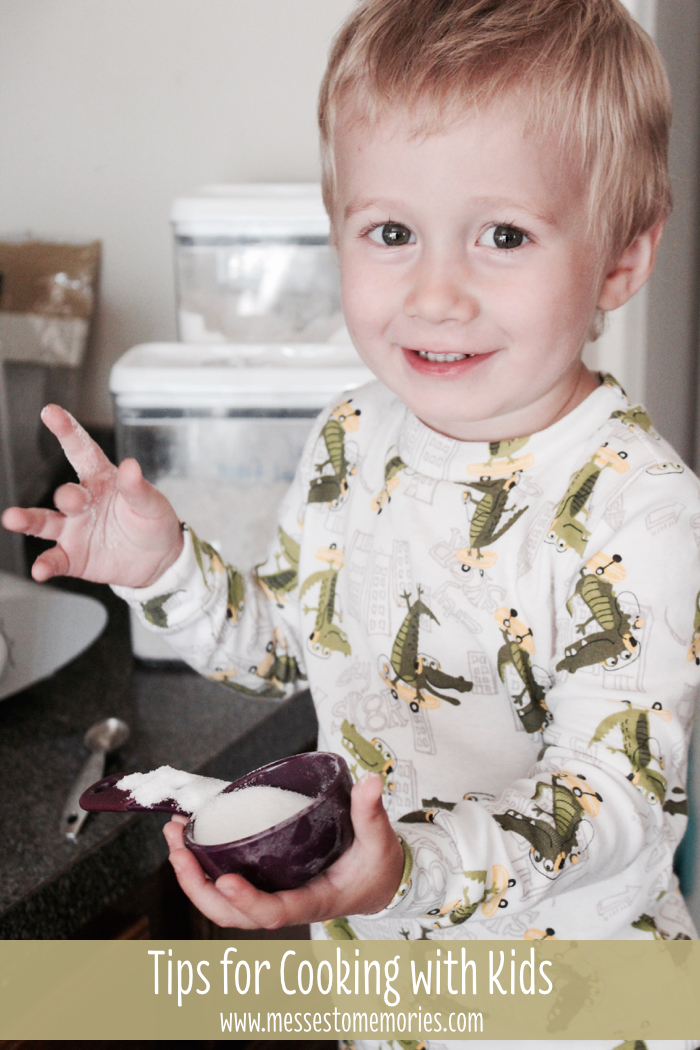 Tips for Cooking with Kids from Messes to Memories