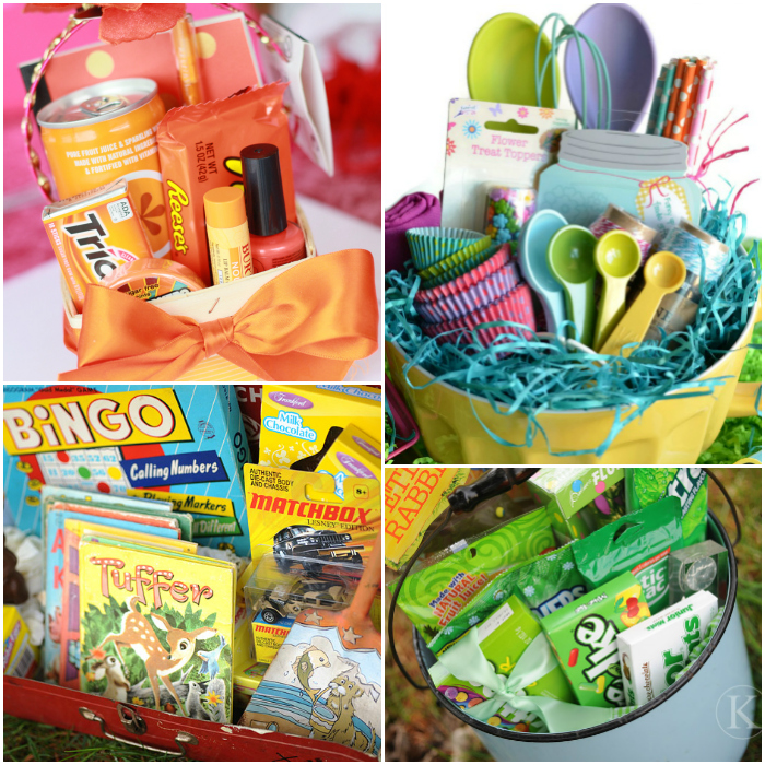 25 themed easter basket ideas messes to memories easter basket ideas negle Images