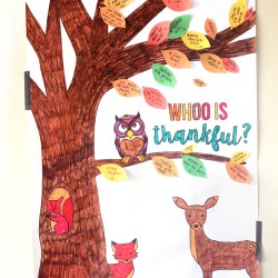 GIANT THANKFUL TREE