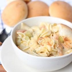 CHICKEN NOODLE SOUP WITH RHODES