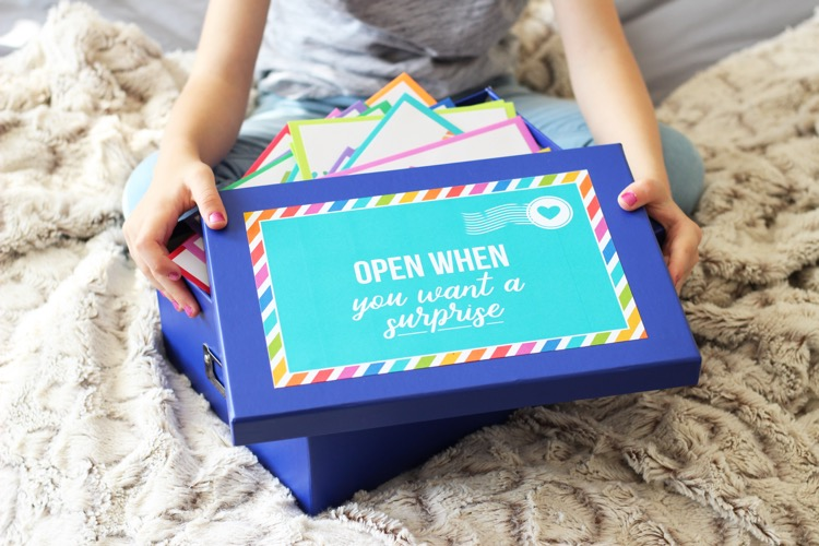 Open When Letters - A meaningful gift idea for kids!