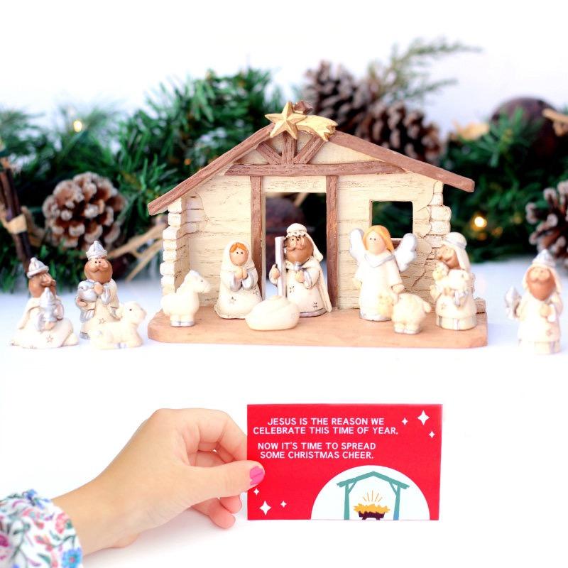 Christmas Countdown Nativity