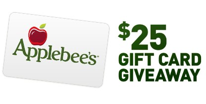 Applebees 25 Gift Card Giveaway Mess For Less