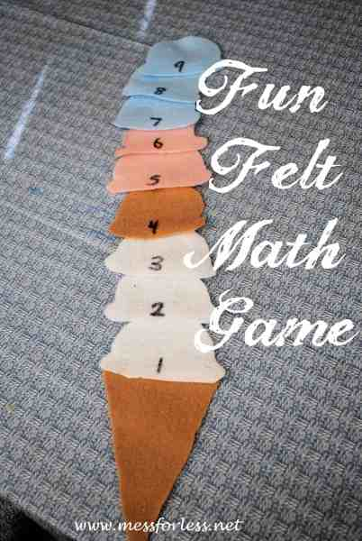 Yummy Ice Cream Math Games   Mess for Less Ice Cream Math Games   math   preschool